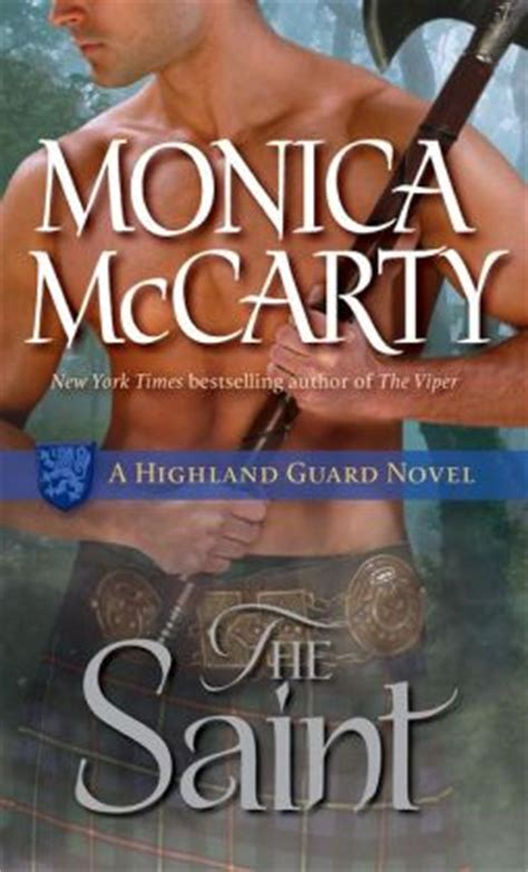 The Saint (Highland Guard Series #5) by Monica McCarty