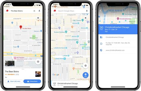 Google Maps app updated for iOS to support iPhone X Display