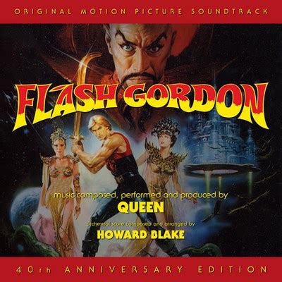 Flash Gordon Soundtrack 40th Anniversary Edition By Howard