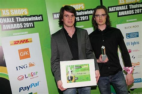 """Last year we won the prize """"best webshop of the"""