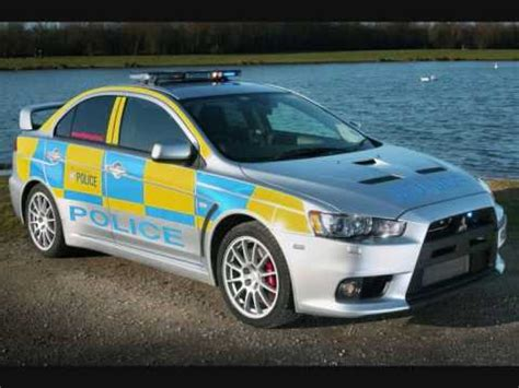 Best Police Cars From Around The World - YouTube