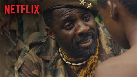 Trailer of Beasts of No Nation starring Idris Elba