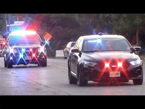 Police Cars Responding Compilation - Best Of 2017 - YouTube