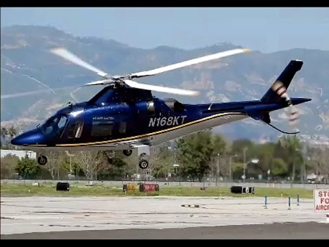 Agusta 109 Helicopter 2013 - YouTube