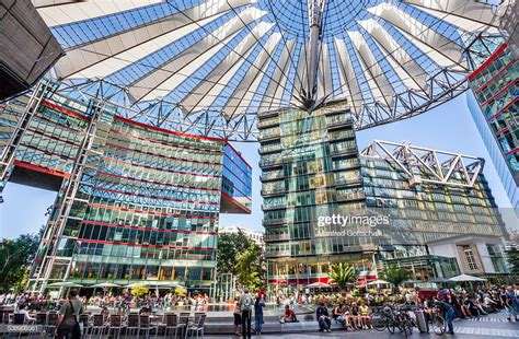 Sony Center Berlin Central Forum Stock Photo | Getty Images