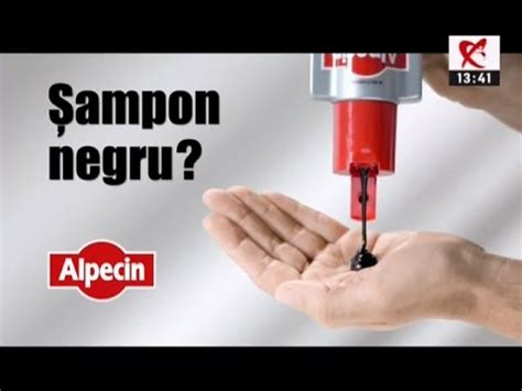 Reclama Alpecin - Sampon negru - YouTube