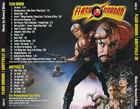 FLASH GORDON (Score) /AMITYVILLE 3D - Original Soundtracks