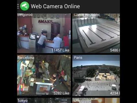 Web Camera Online CCTV IP Cam is application for watch
