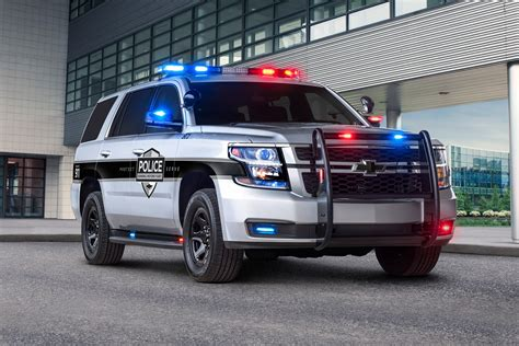 Chevy Tahoe becomes first 'pursuit-rated' police car with