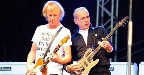 Status Quo frontman Francis Rossi claims the band had to