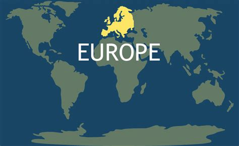 Europe Continent | The 7 Continents of the World