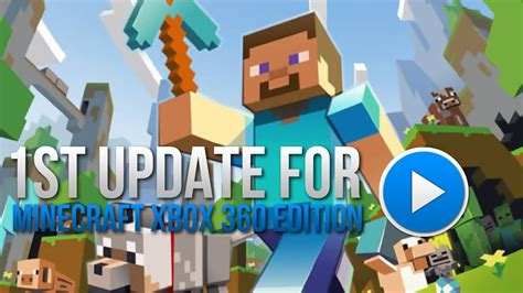 FIRST Update for Minecraft Xbox 360 Edition!!! - YouTube