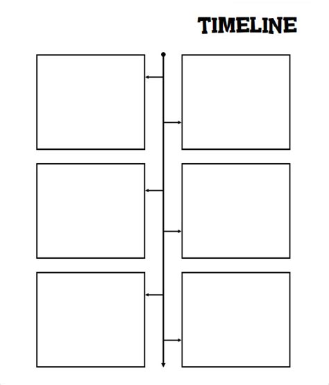 FREE 10+ Sample Blank Timeline Templates in PDF | MS Word